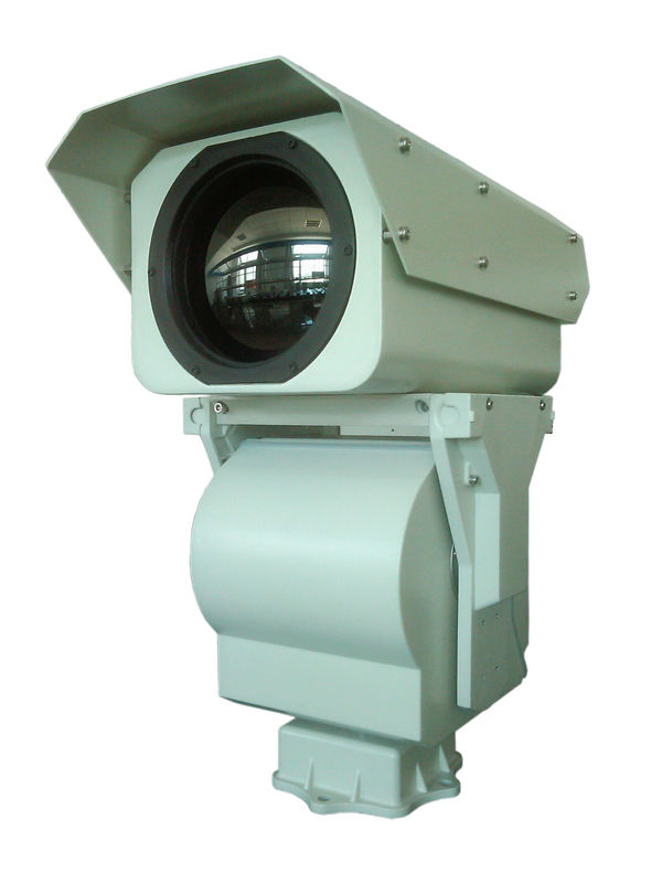 IR Night Vision Safety PTZ Thermal Imaging Camera 20km High Dynamic Range