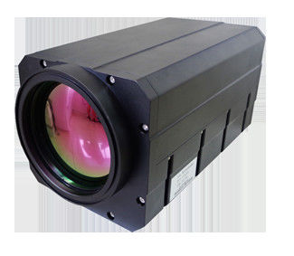 10 - 60km Surveillance Infrared Camera , Cooled PTZ Thermal Imaging Camera