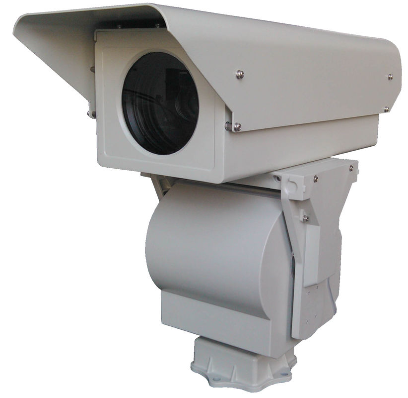 Aluminum Housing 8km HD PTZ Infrared Camera , Fog Penetration Long Range Camera